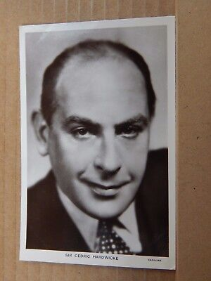 Postcard Picturegoer No 535a Sir Cedric Hardwicke Real Photo  unposted