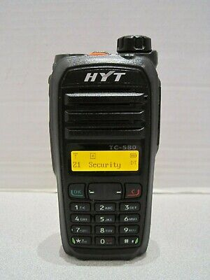HYT Walkie Talkie, Portable Two-Way Radio - 400-470Mhz Model: TC-580U (1)
