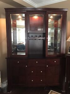 Hutch and sideboard