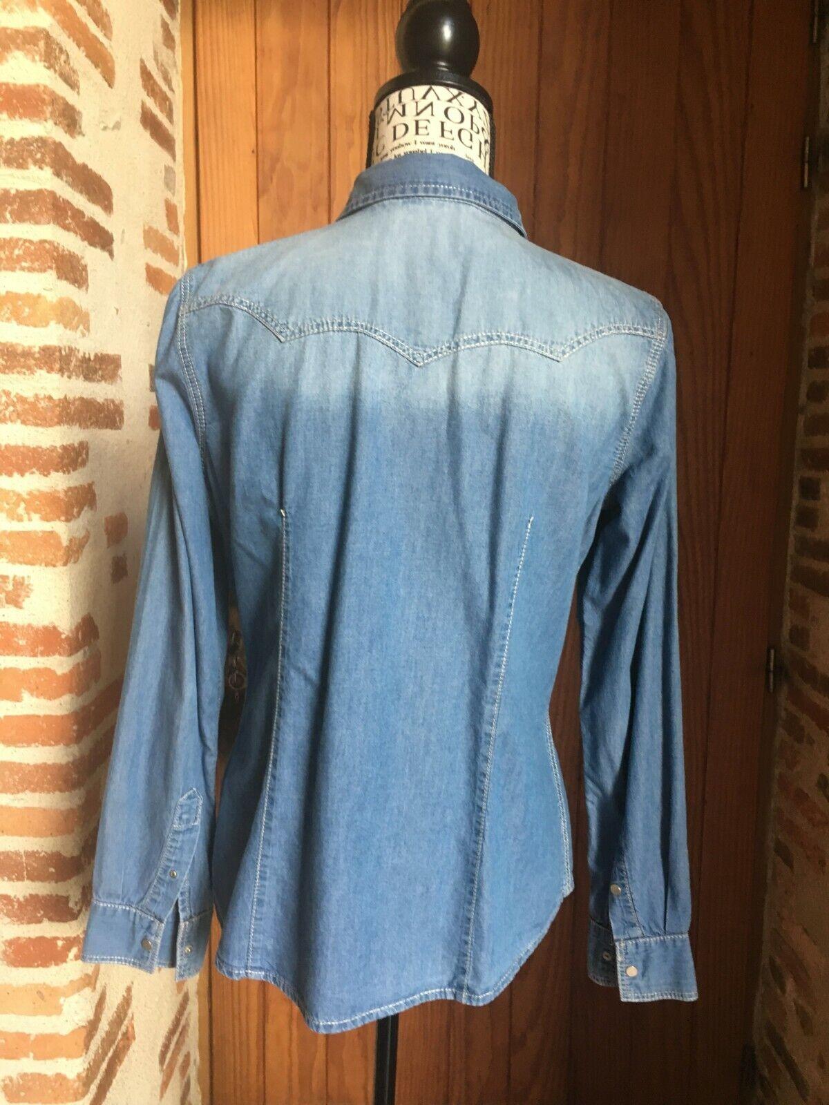 Camaieu chemise en jean femme taille 38