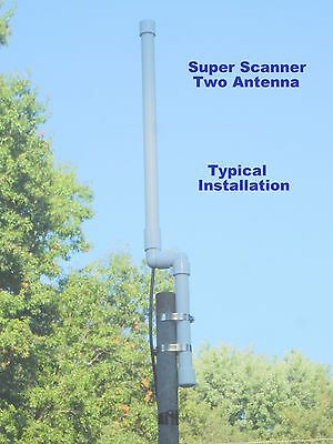 New! Super Scanner Two, Base Antenna,50