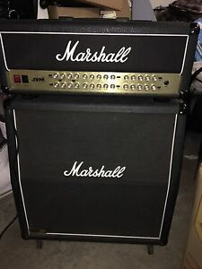 100W MARSHALL JVM410H TUBE GUITAR AMP HEAD & 1960A Lead 4 x 12 CAB Heathcote Sutherland Area Preview