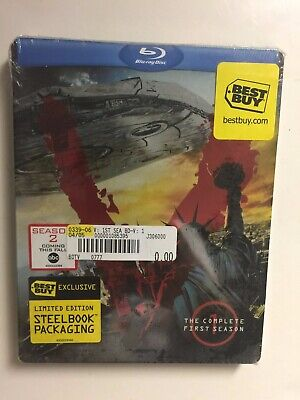 V: Complete First Season (Blu-ray, 2-Disc, 2010) NEW Best Buy