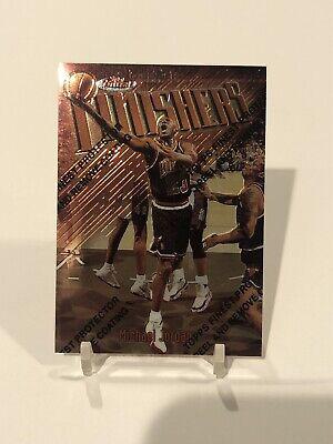 1997-98 Topps Finest  Michael Jordan Finishers Bronze #39 Bulls F1 PEEL ON GEM
