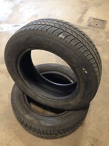 Two Cooper all season tires 185/65R15