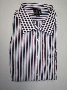 92 50 jos a bank traveler dress shirt w stripe pattern 16