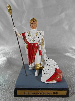 FIGURINE EN PLOMB : L'EMPEREUR DES FRANÇAIS NAPOLÉON 1er COSTUME DE SACRE 1804 - Historical Figure Costume