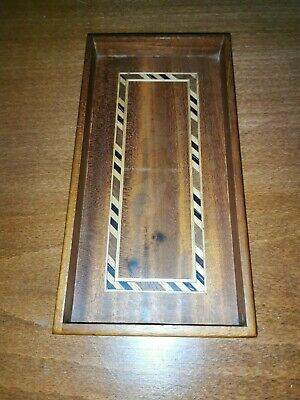 Antique Tunbridge ware Trinket tray