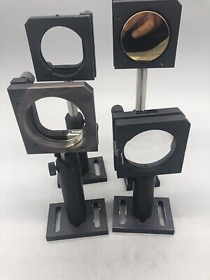 Thorlabs 2 Inch Mirror Mounts Posts Bases 4 Qty Lot  0729-1