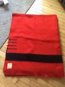 Hudson's Bay scarlet 4 point blanket