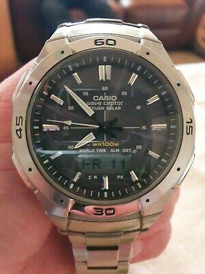 Casio wave ceptor solar watch UK SALE ONLY