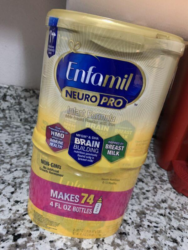 Enfamil Neuro Pro Infant Formula 2 Pack 20oz Each