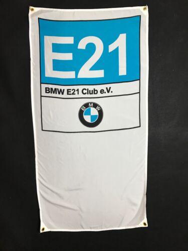 BMW E21 Banner Flag - 320i 323i 318 M3 Alpina C1 B6 Dietel 345i A4 M6 Z1 Zirgo