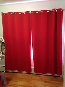 Curtains ( Red )