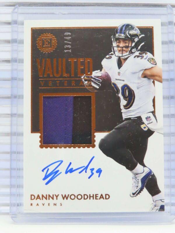 #254 Danny Woodhead 2017 Donruss Panini fútbol trading card