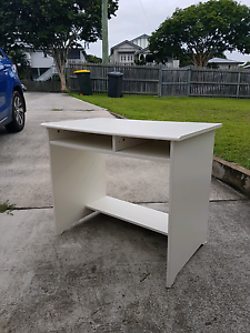 White Ikea Desk Annerley Brisbane South West Preview