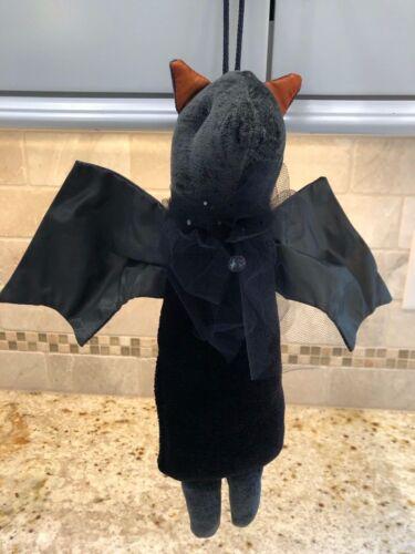 Woof & Poof Halloween BAT Doorhanger 2007