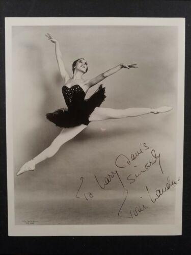 Signed Toni Lander ballet ballerina photo Danish dancer American Ballet Theatre