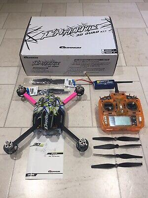 3D Quadcopter Quanum Chaotic with Orange Controller