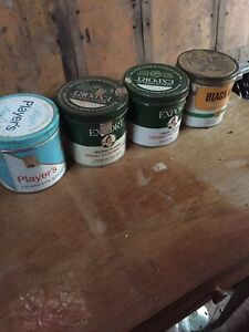 Antique tobacco tins for sale