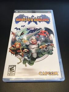 Ultimate Ghosts 'N Goblins for PSP, MINT