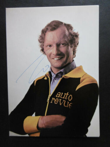Niki Lauda Autogramm signed 10x15 cm Postkarte