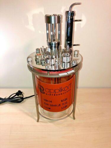 Applikon 3L Autoclavable Glass Bioreactor / Fermenter