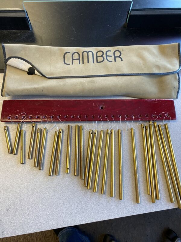 Camber Chimes - Brass set of 24 tubes Single-row Chime Drum Percussion