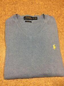Polo Ralph Lauren V-Neck Sweater - Mens Med