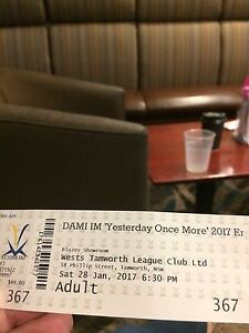 Dami Im tickets West Tamworth Tamworth City Preview