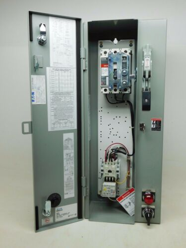 Eaton Combination Motor Controller with Circuit Protector Solid State Relay PO