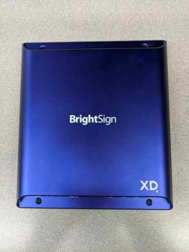 BrightSign XD4 XD1034 Digital Signage Player