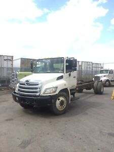 2012 Hino 268 Automatic Hydraulic Brakes Cab and Chassis