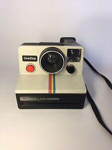 Vintage Polaroid onestep camera St. John's Newfoundland image 1