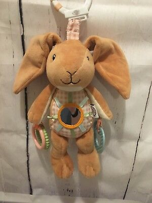 Guess How Much I Love You Rabbit - Guess How Much I Love You Bunny Rabbit Plush Activity Toy Link Mirror Crinkle
