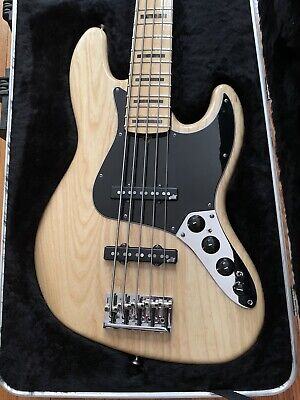 2011 Fender American Jazz Bass Deluxe V 5 String With $500 Of Upgrades