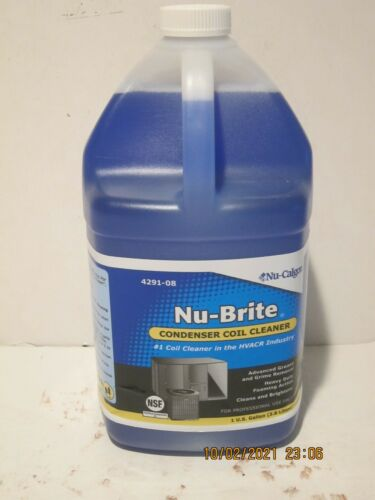 Nu-Calgon 4291-08 Nu-Brite Foaming Coil Cleaner- Gallon NEW SEALED-FREE SHIP!!!