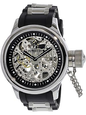Black Rubber Watch - Invicta Men's Russian Diver 1088 Black Rubber Automatic Self Wind Dress Watch