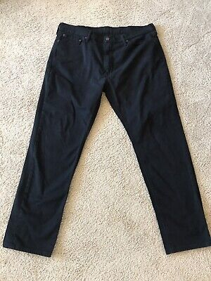 """Levis 541 Jeans Black Athletic Fit Stretch Mens Size 38"""" x 32"""" *Red Tab* EUC"""
