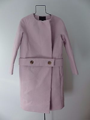 J. Crew COLLECTION DROP-WAIST COLLARLESS COAT size 4 pink $795 sold out
