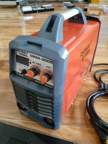 ROSSI Stick Welder 300 Amp Inverter Welding Machine MMA Portable ARC DC 300A Gas