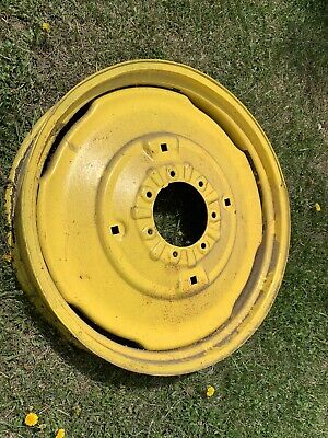 John Deere Model H Hn Rear Wheel 32 7 Bolt Near Perfect Rare