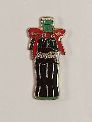 Coca-Cola Coke Holiday Coke Bottle Lapel Pin