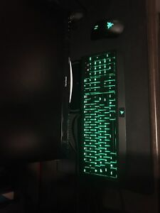 Razor gaming keyboard and mouse combo