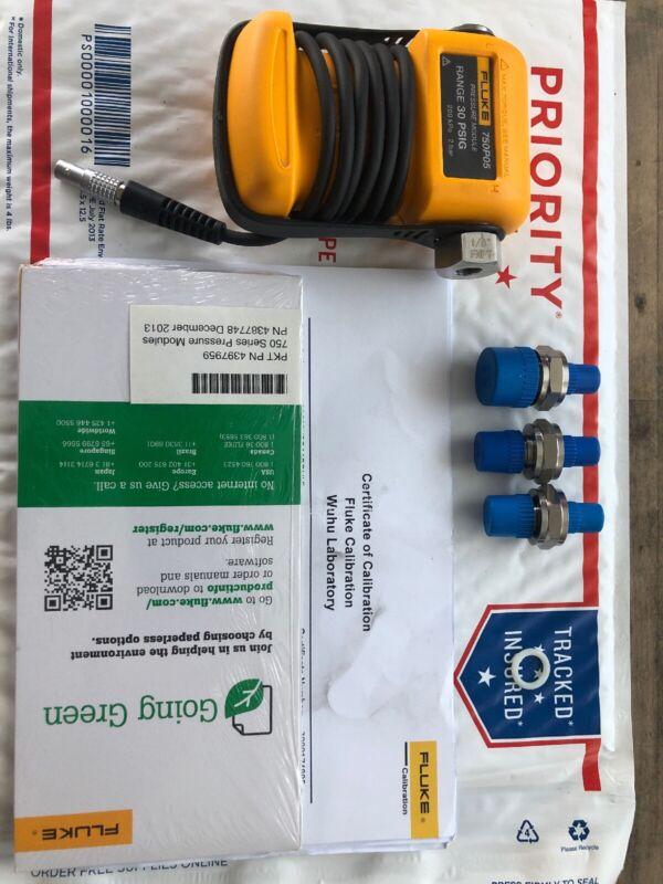 FLUKE FLUKE-750P05 Pressure Module,Gage With Calibrate Certificate
