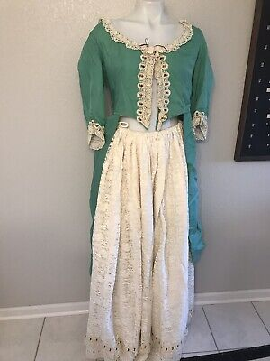 Renaissance Faire Dress Cosplay Victorian Wench Costume Outfit