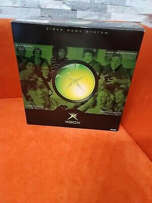 Original Microsoft Xbox Game Console in Original Box