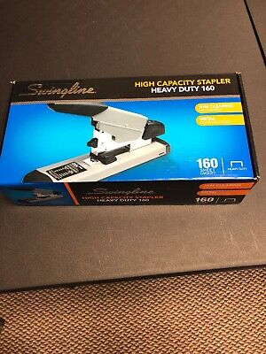 Brand New Swingline 39005 Heavy-duty Stapler 160-sheet Capacity Blackgray