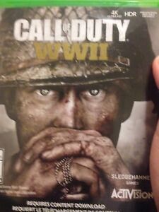 Call Of Duty WW2 brand new used
