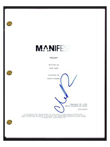 Melissa Roxburgh Signed Autographed MANIFEST Pilot Episode Script Screenplay COA